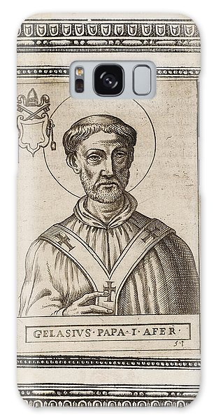 Influence Galaxy Case - Pope Gelasius I  Saint, Whose Writings by Mary Evans Picture Library