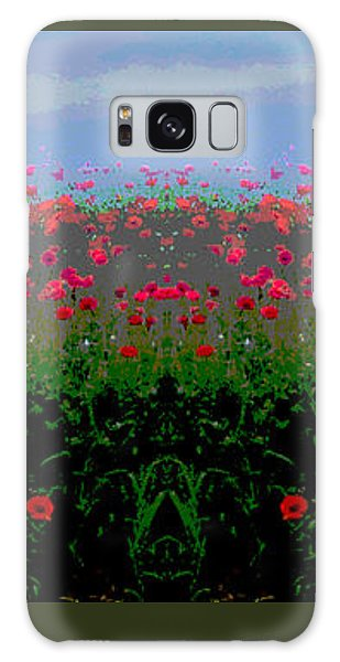 Poppies Field Galaxy Case