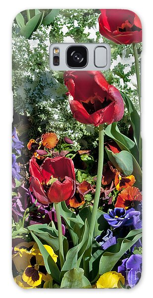 Galaxy Case featuring the photograph Poppies by Mae Wertz