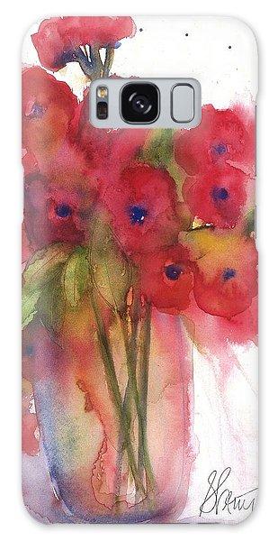 Poppies Galaxy Case