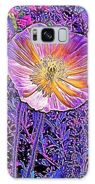 Poppy 3 Galaxy Case by Pamela Cooper