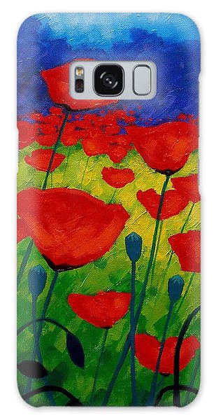 Metal Galaxy Case - Poppy Corner II by John  Nolan