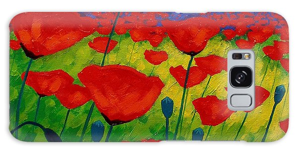 Card Galaxy S8 Case - Poppy Corner II by John  Nolan