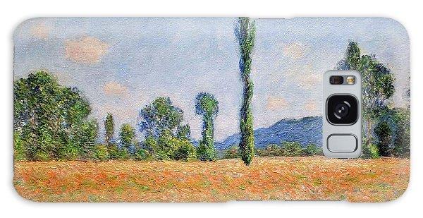 Art Institute Galaxy Case - Poppy Field - Giverny by Claude Monet