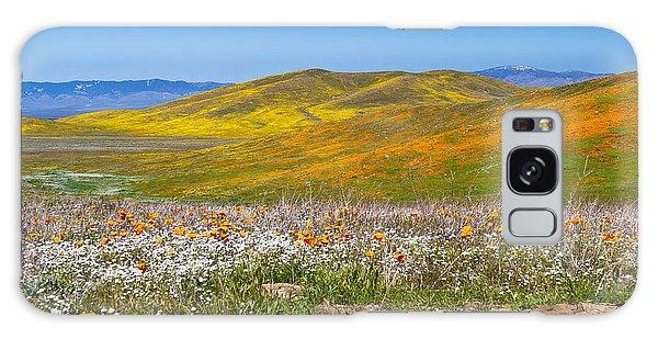 Poppy Fields Galaxy Case