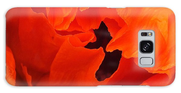 Galaxy Case featuring the photograph Poppy by Gene Cyr