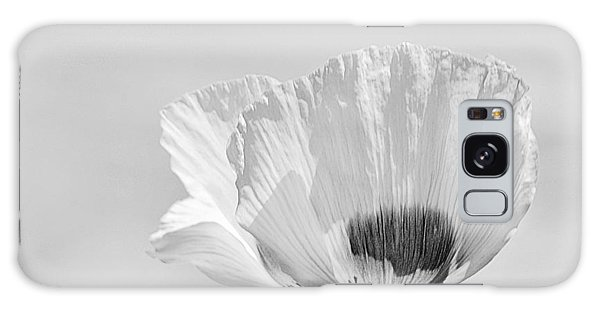 Poppy In White Galaxy Case
