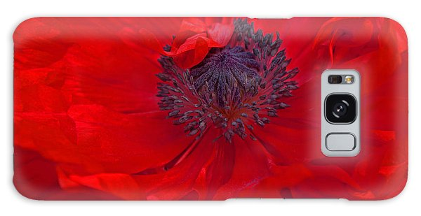Poppy - Red Envy Galaxy Case by Joanne Smoley