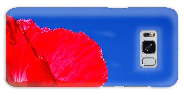 Poppy Sky Galaxy Case by Stephen Melia