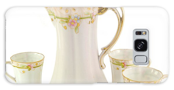 Porcelain Pitcher And Cups Galaxy Case