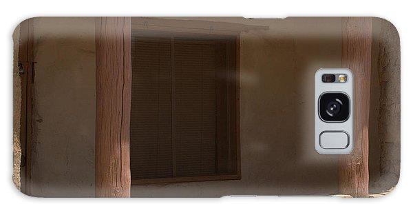 Porch Of Pueblo Home Galaxy Case