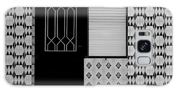 Door Galaxy Case - Porches With Tiles by Inge Schuster