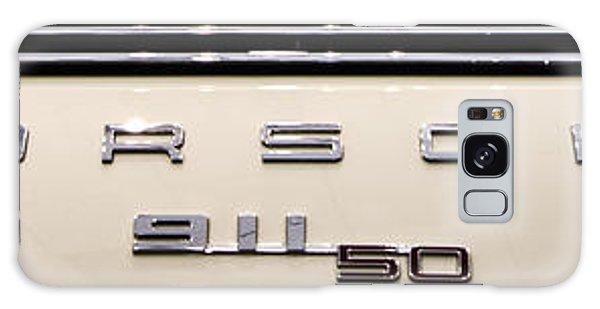 Porsche 50th Anniversary Rear Badge Galaxy Case