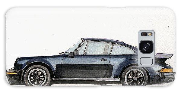 Watercolor Galaxy Case - Porsche 911 930 Turbo by Juan  Bosco