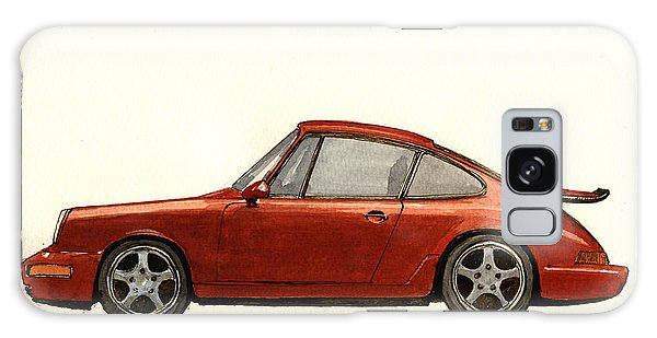 Sport Car Galaxy Case - Porsche 911 964 Rs by Juan  Bosco