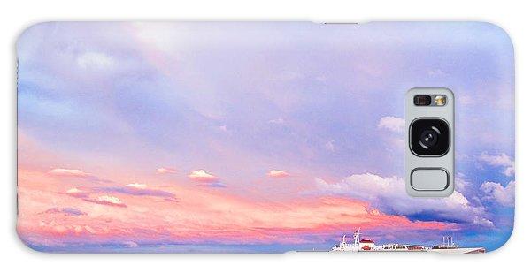 Port Angeles Sunset Galaxy Case