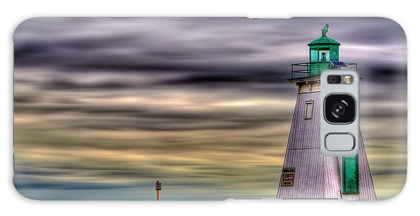 Port Dalhousie Lighthouse Galaxy Case by Jerry Fornarotto