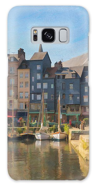 Port D'honfleur Galaxy Case by Jean-Pierre Ducondi