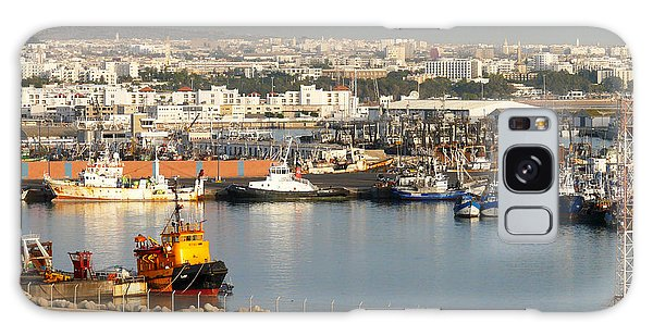 Port Of Agadir Morocco 1 Galaxy Case