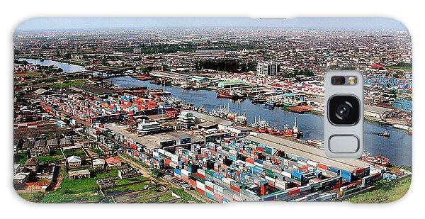 Nigeria Galaxy Case - Port Of Lagos by Alex Bartel/science Photo Library