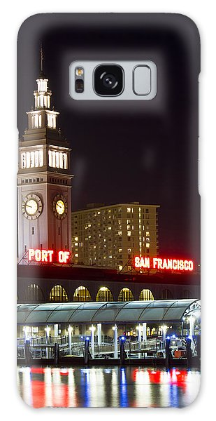 Port Of San Francisco Galaxy Case