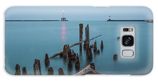 Port Washington Harbor Galaxy Case