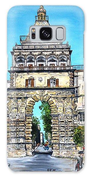 Porta Nuova - Palermo Galaxy Case by Loredana Messina