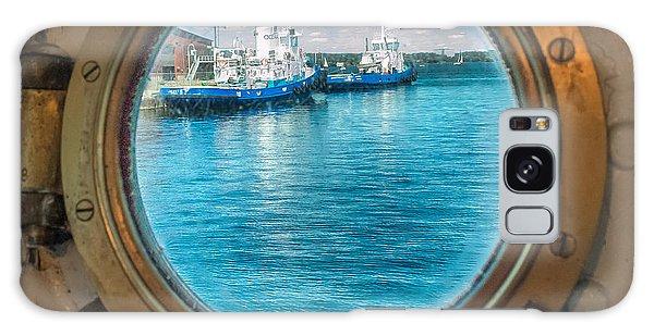 Hmcs Haida Porthole  Galaxy Case