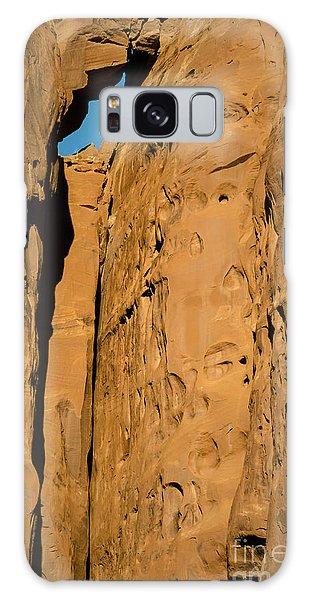 Portal Through Stone Galaxy Case by Jeff Kolker