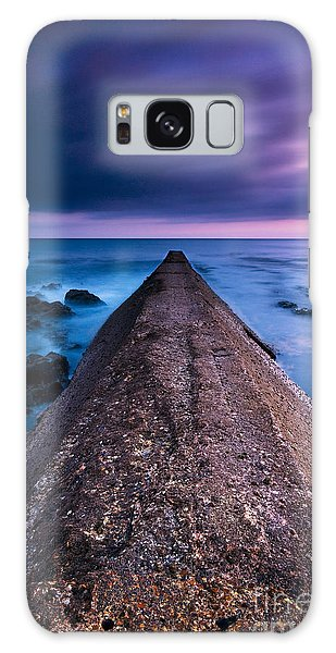 Porthleven Sunset Galaxy Case