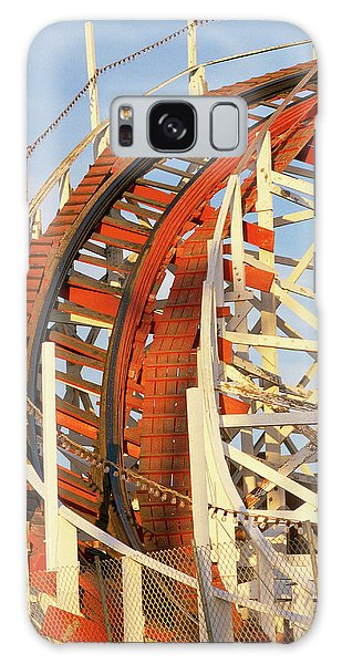 County Fair Galaxy Case - Portion Of Rollercoaster by Panoramic Images