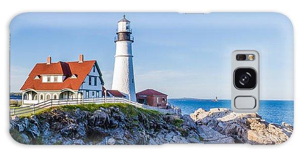 Portland Head Light House Cape Elizabeth Maine Galaxy Case