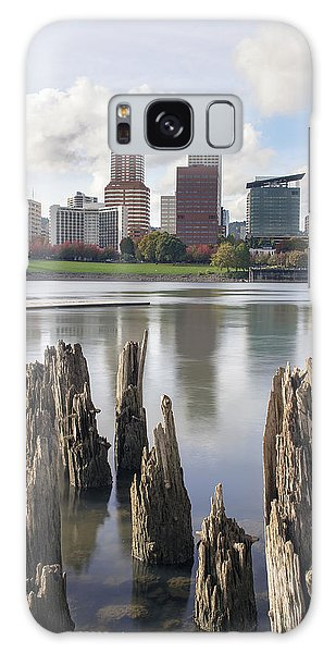 Portland Oregon Waterfront Galaxy Case