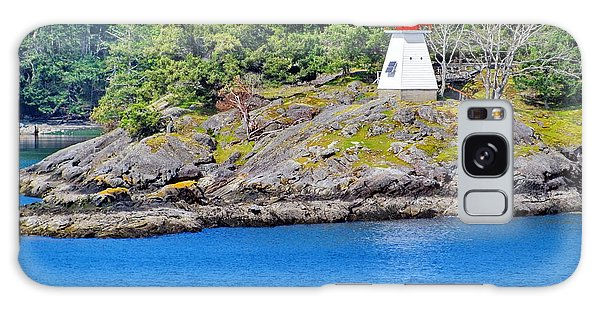 Portlock Point Lighthouse In British Columbia Galaxy Case