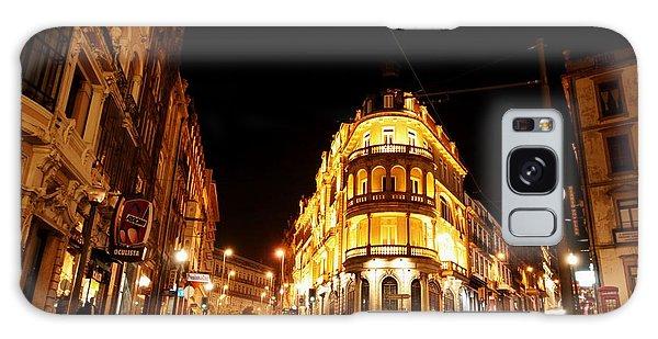 Porto Portugal At Night 1 Am Galaxy Case