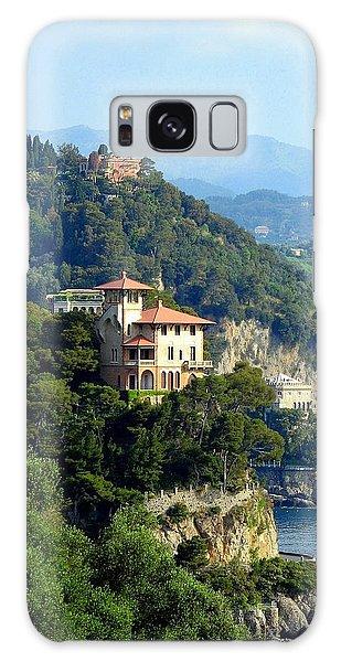 Portofino Coastline Galaxy Case