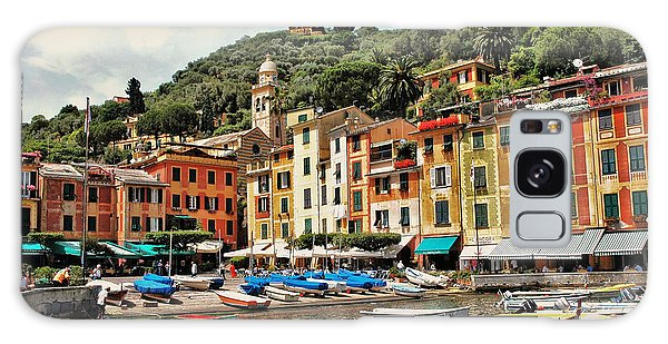 Portofino Harbor 2 Galaxy Case by Allen Beatty
