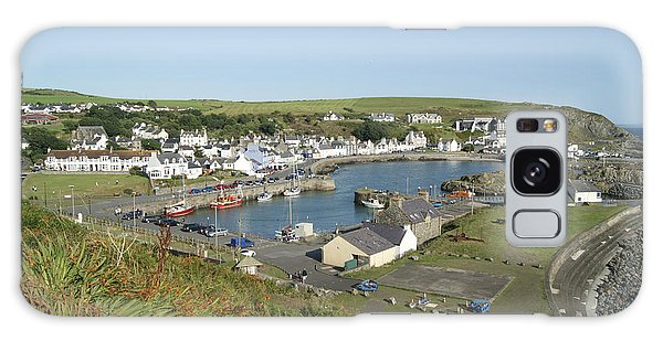 Portpatrick Harbour Galaxy Case