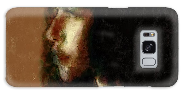 Portrait In Sepia Tones  Galaxy Case