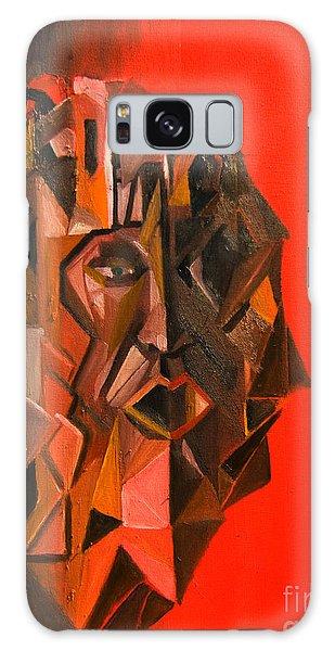 Portrait Mask Galaxy Case