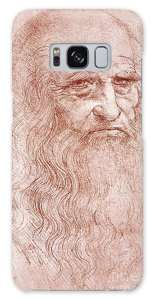 Crt Galaxy Case - Portrait Of A Bearded Man by Leonardo da Vinci
