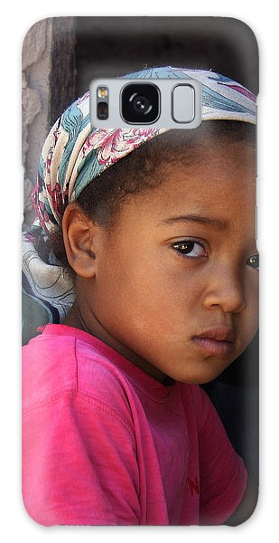 Portrait Of A Berber Girl Galaxy Case