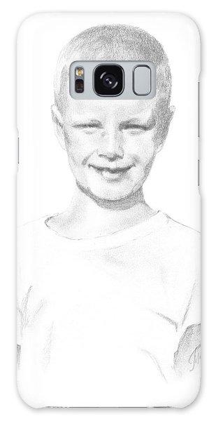 Portrait Of A Boy Galaxy Case
