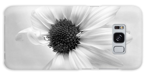 Portrait Of A Daisy Galaxy Case by Louise Kumpf