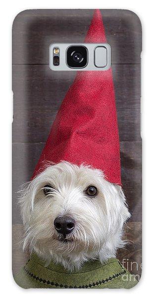 Elf Galaxy S8 Case - Portrait Of A Garden Gnome by Edward Fielding