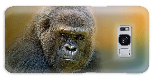 Portrait Of A Gorilla Galaxy Case