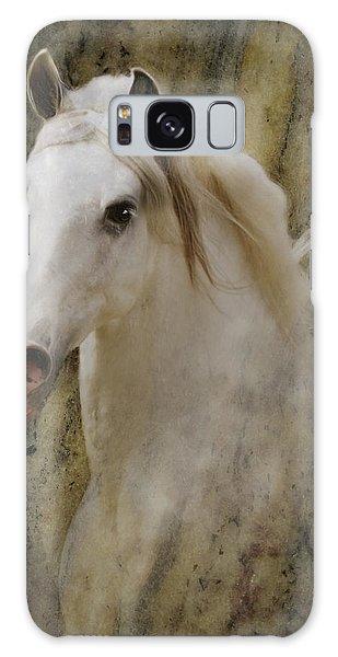 Portrait Of A Horse God Galaxy Case