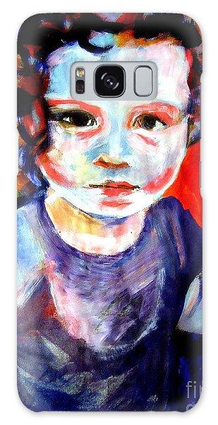 Portrait Of A Little Girl Galaxy Case