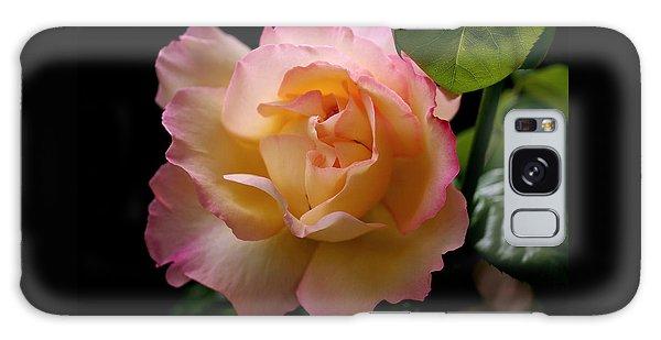 Portrait Of A Rose Galaxy Case