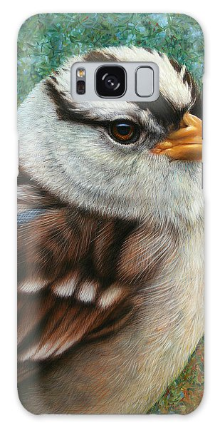 Sparrow Galaxy S8 Case - Portrait Of A Sparrow by James W Johnson